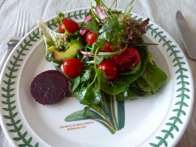salad at Ian's