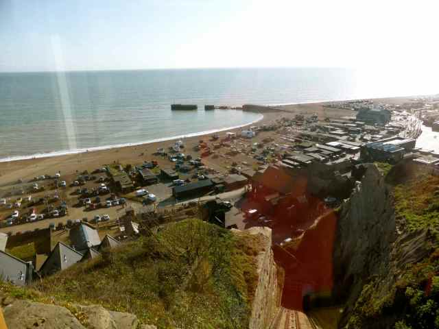 Hastings from the lift