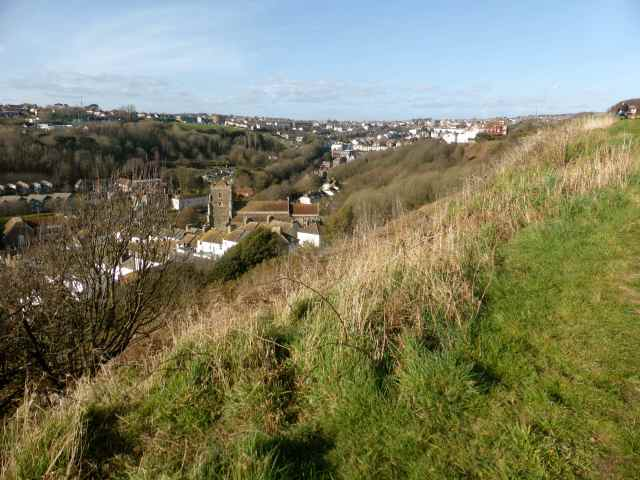 Hastings hillside