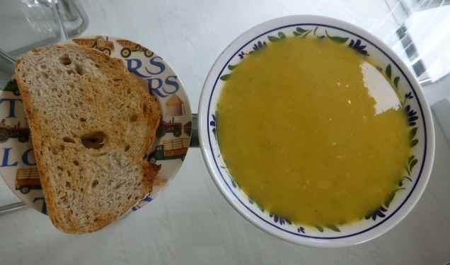 leek and sweet potato soup