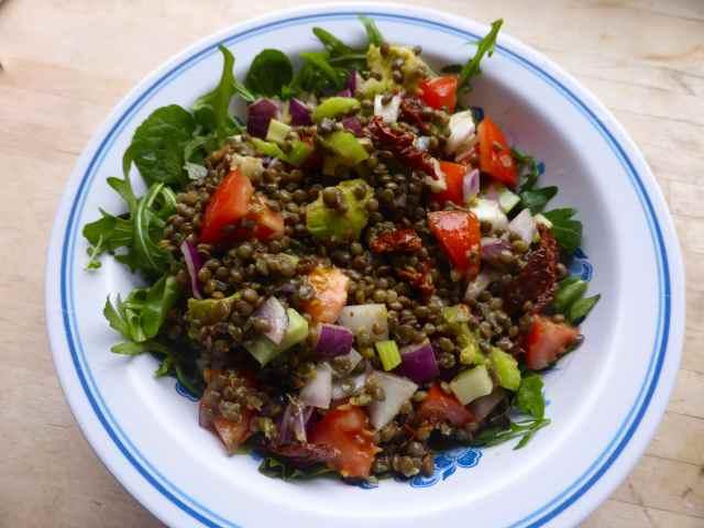 lentil salad 1